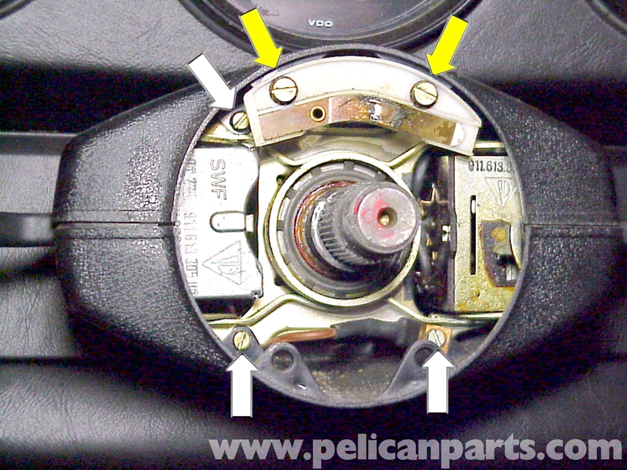 Porsche 911 Steering Wheel Switch Replacement 1965 89 930 Brakes Diagram Large Image Extra