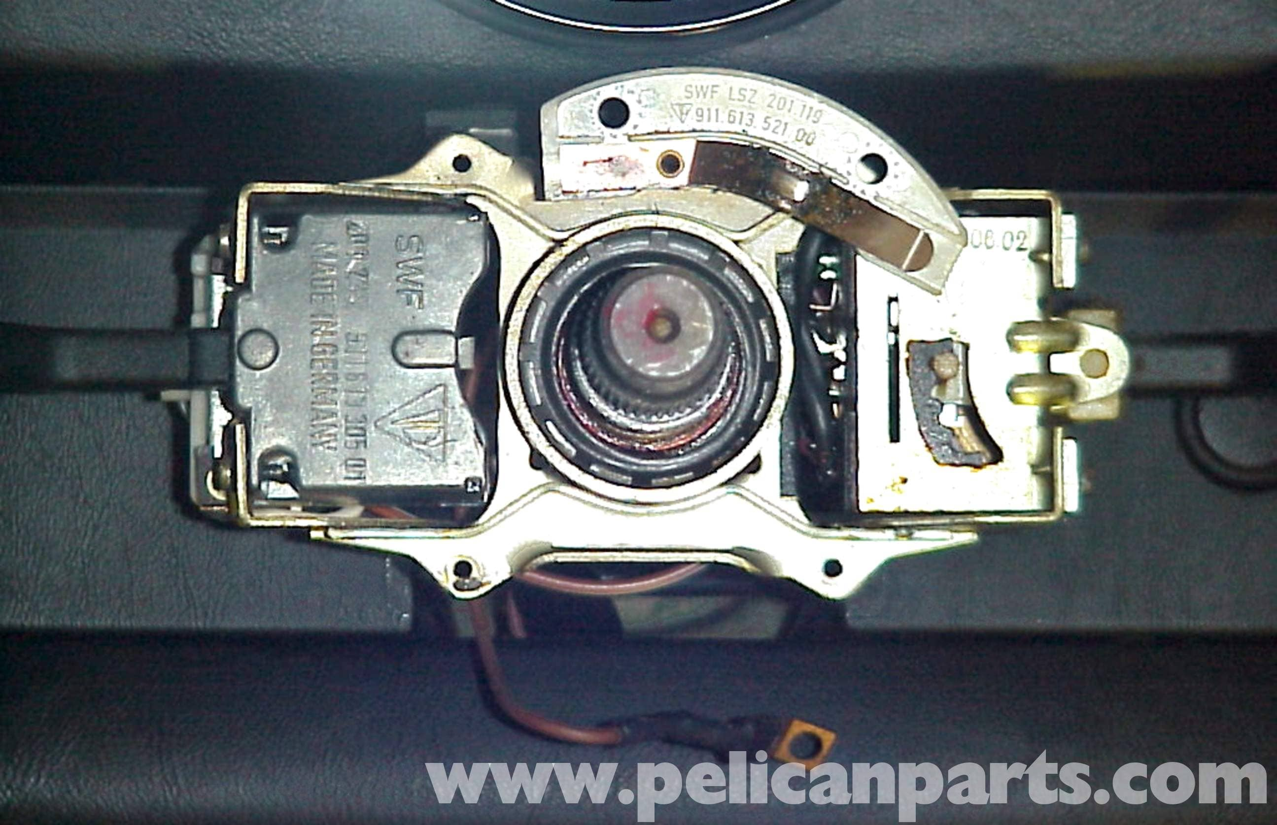 Porsche 911 Steering Wheel Switch Replacement