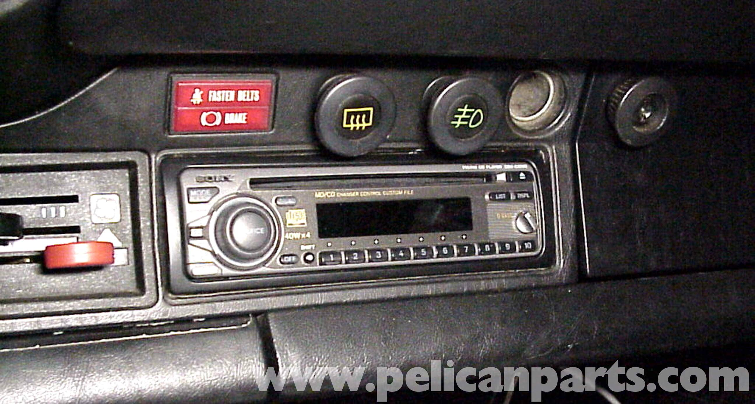 Porsche 911 Stereo Installation 1965 89 930 Turbo 1975 1978 Fuse Box Diagram Large Image Extra