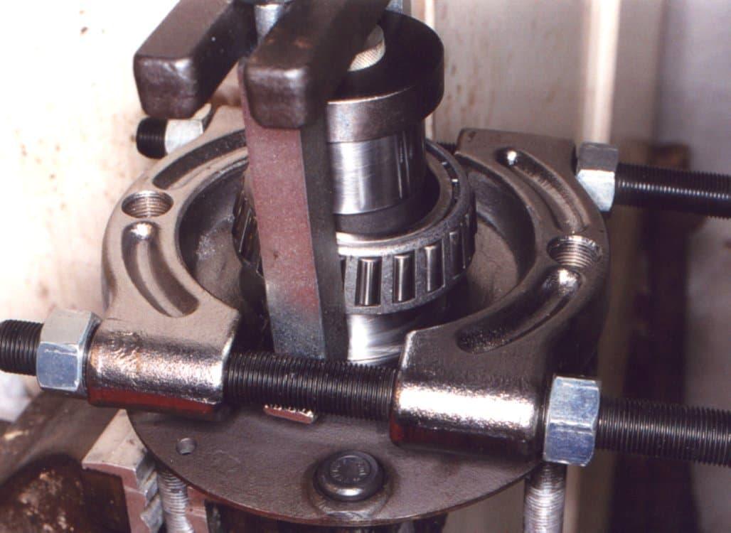 Bearing Puller Parts : Porsche rear wheel bearing replacement turbo