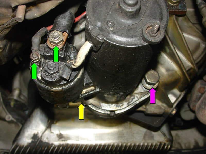 porsche 928 starter wiring wiring diagram