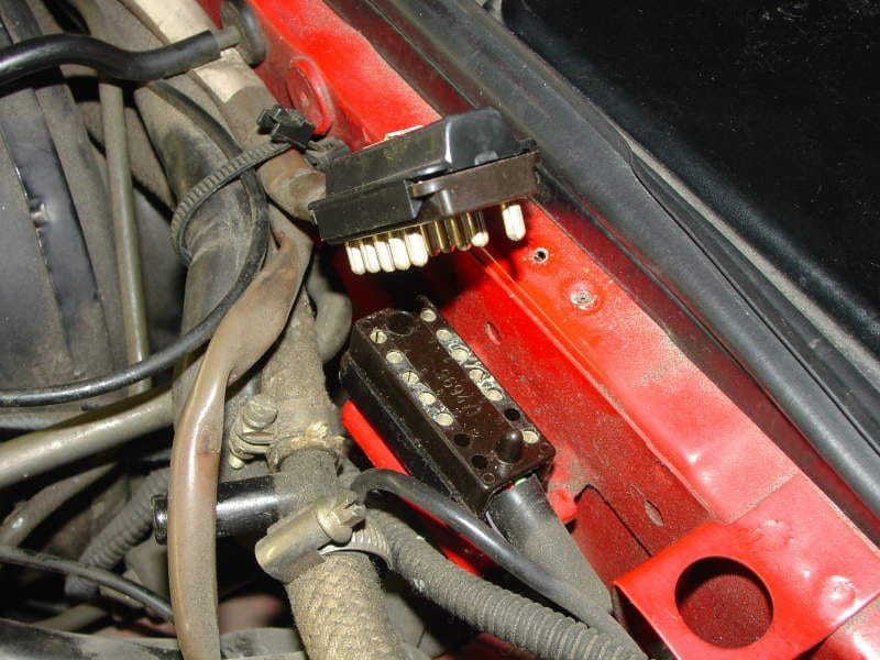 This Will Allow Some Slack In The Wiring Harness And Help With Access Below It Also Can If You Use A Small Screwdriver To Pry Tie Off: Porsche 944 Wiring Harness At Mazhai.net