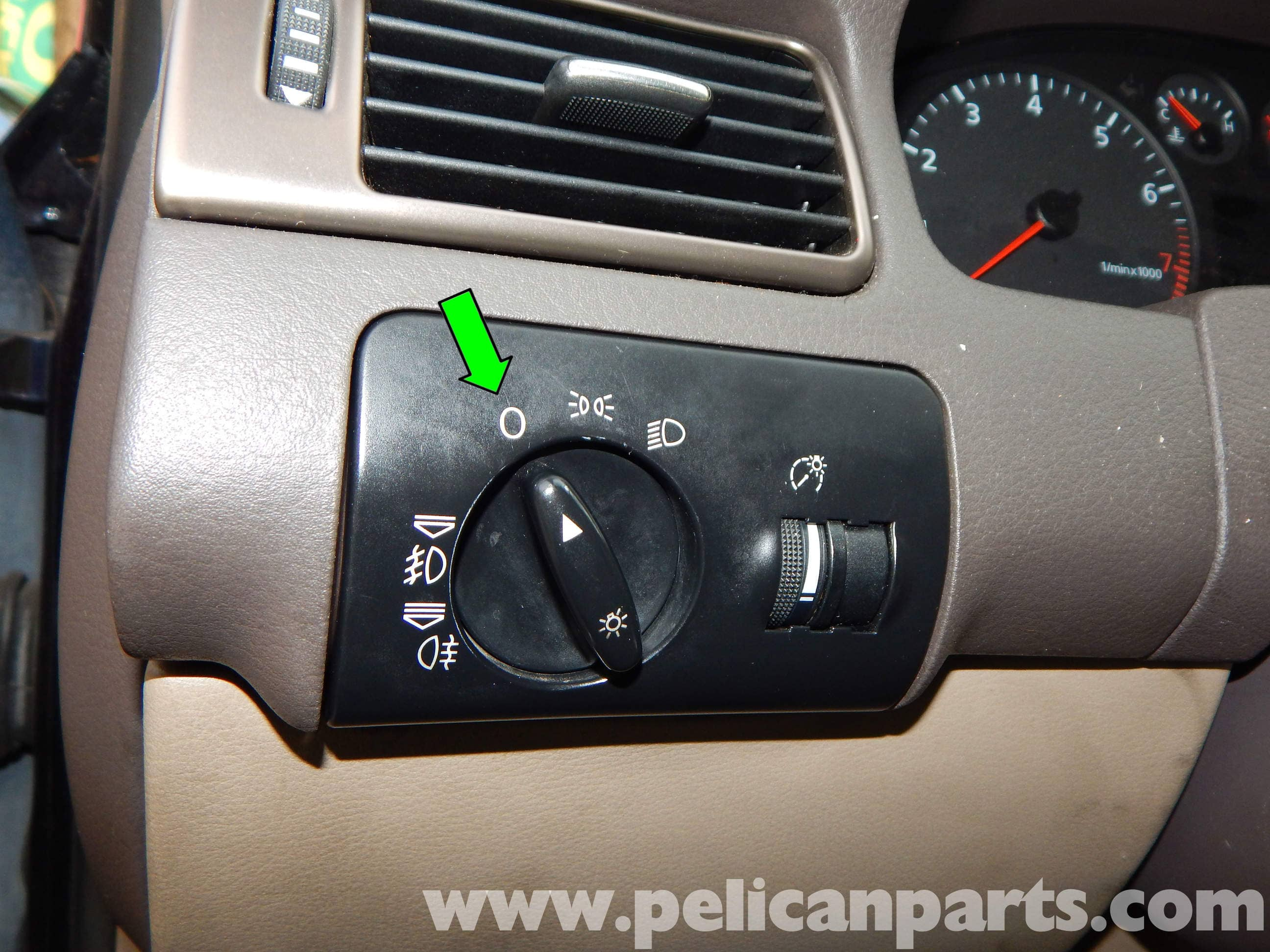 Audi A6 C5 Headlight Switch Replacement 1997 2004 Pelican Parts