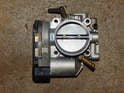 Here's the same throttle body after cleaning.