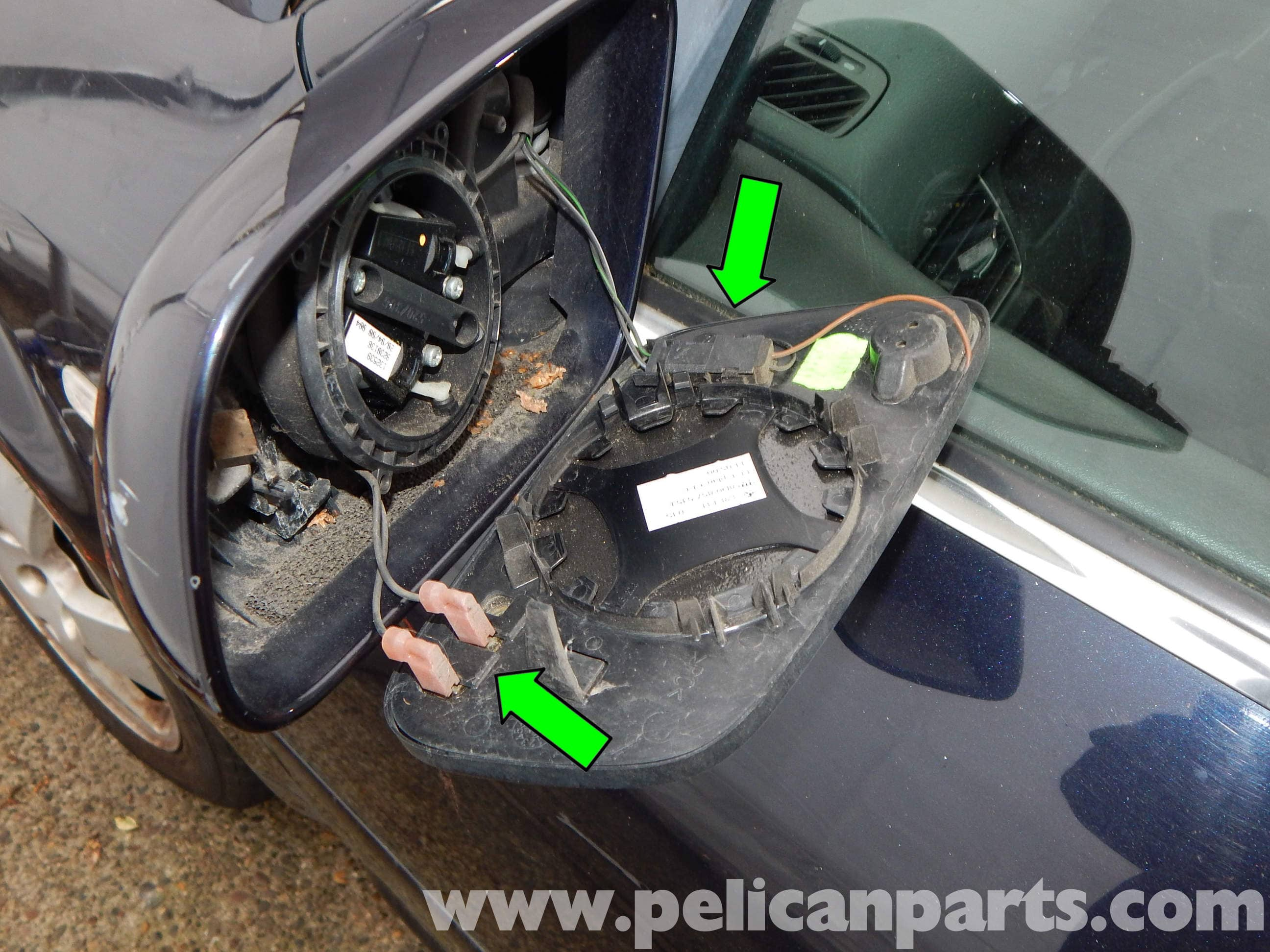 Pelican Technical Article Audi A6 C5 Side Mirror Glass