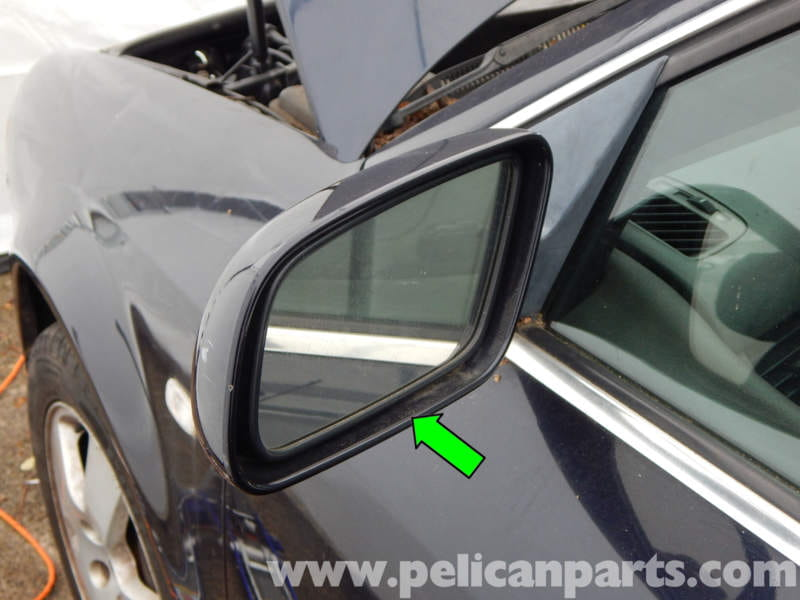 Pelican Technical Article Audi A6 C5 Side Mirror Glass Replacement