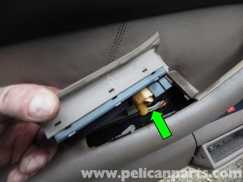 Pelican Parts Technical Article - Audi A6 C5 - Main Window Switch