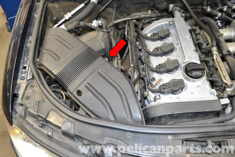 Audi A4 B6 Maf Sensor Replacement  2002