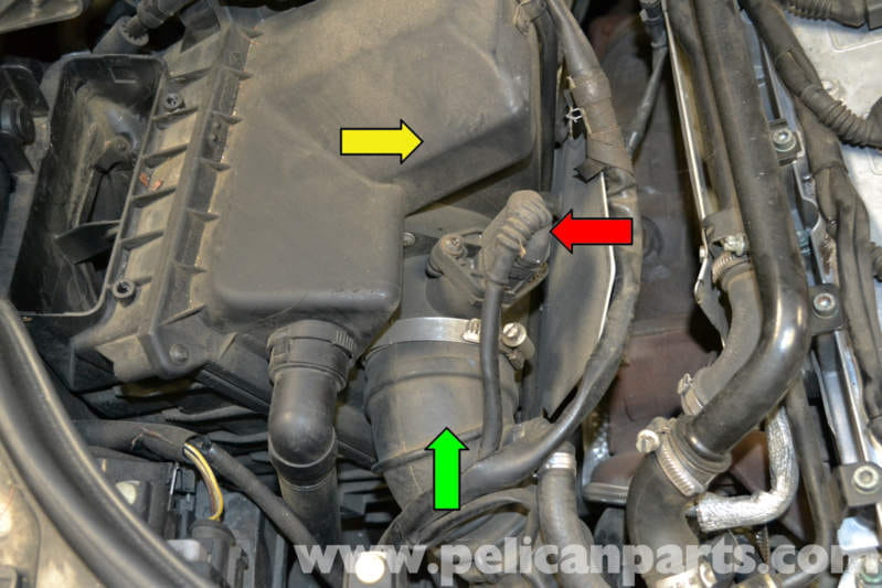 pic05 audi a4 b6 maf sensor replacement (2002 2008) pelican parts diy B6 A4 at highcare.asia