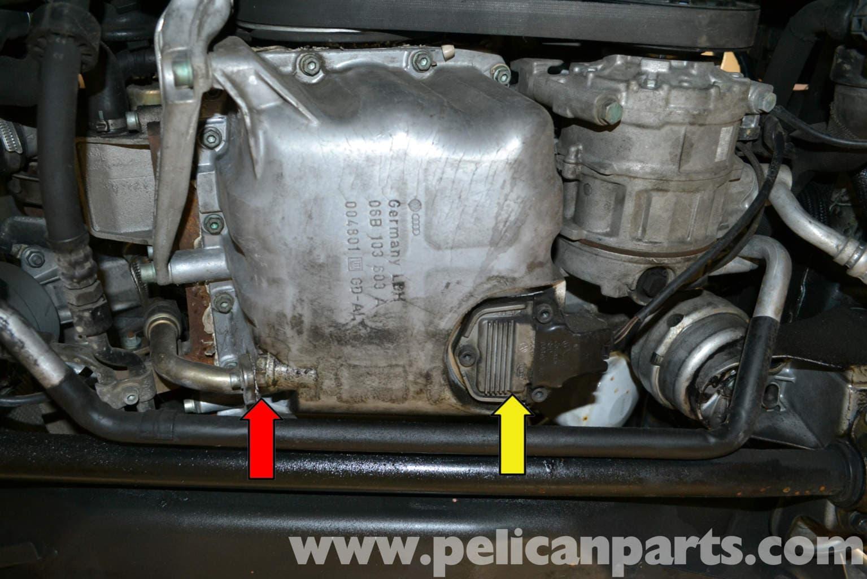 Audi A4 B6 Oil Level Sensor Replacement 2002 2008