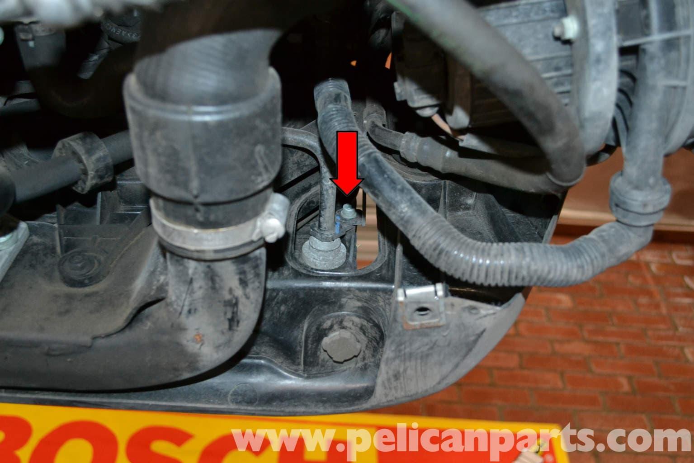 Audi A4 B6 Radiator Replacement  1 8t 2002