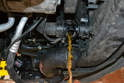 Drain the coolant from the radiator.