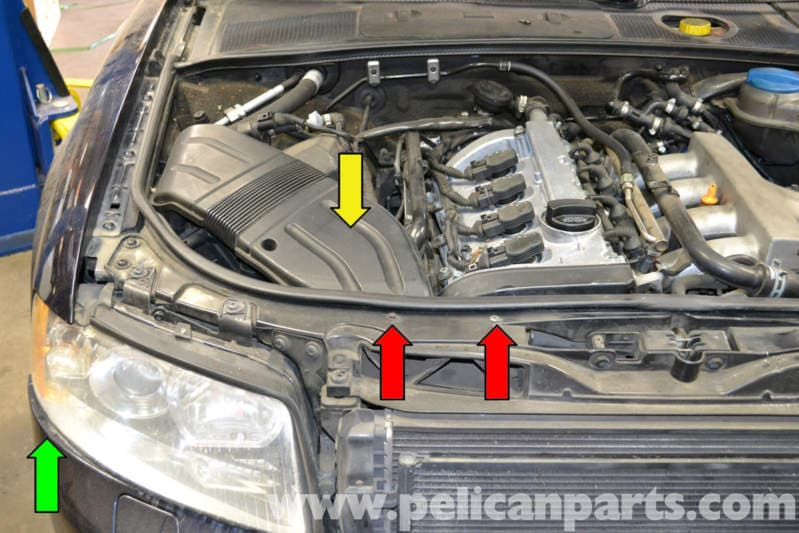Audi A4 B6 Headlight Bulb And Assembly Replacement  2002