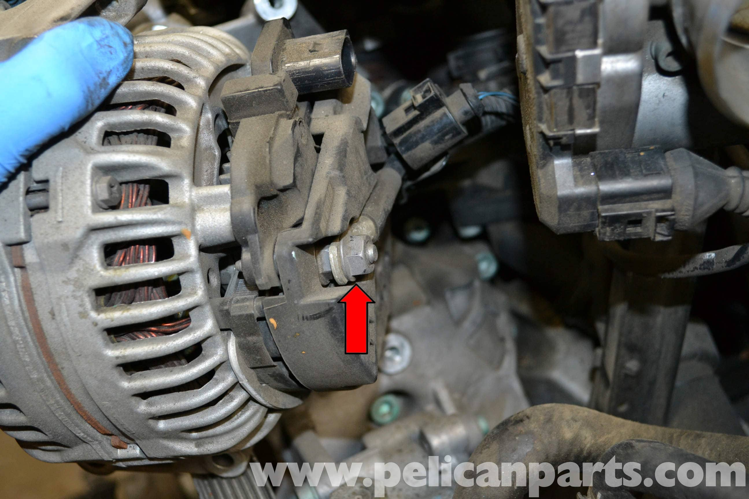 Audi A4 B6 Alternator Replacement  1 8t 2002