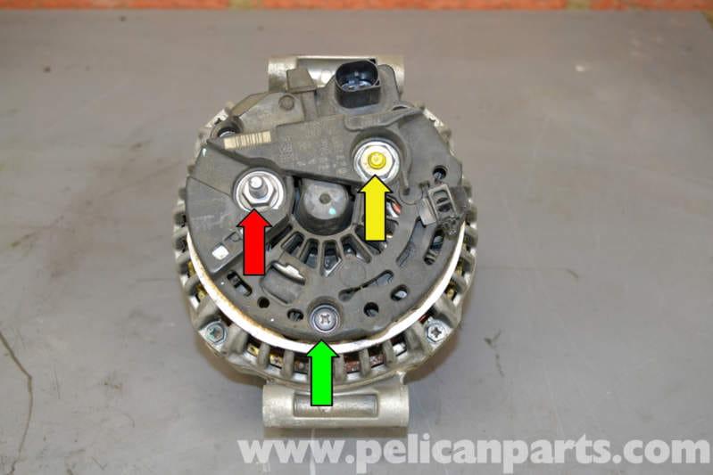 Audi A4 B6 Voltage Regulator Replacement  2002