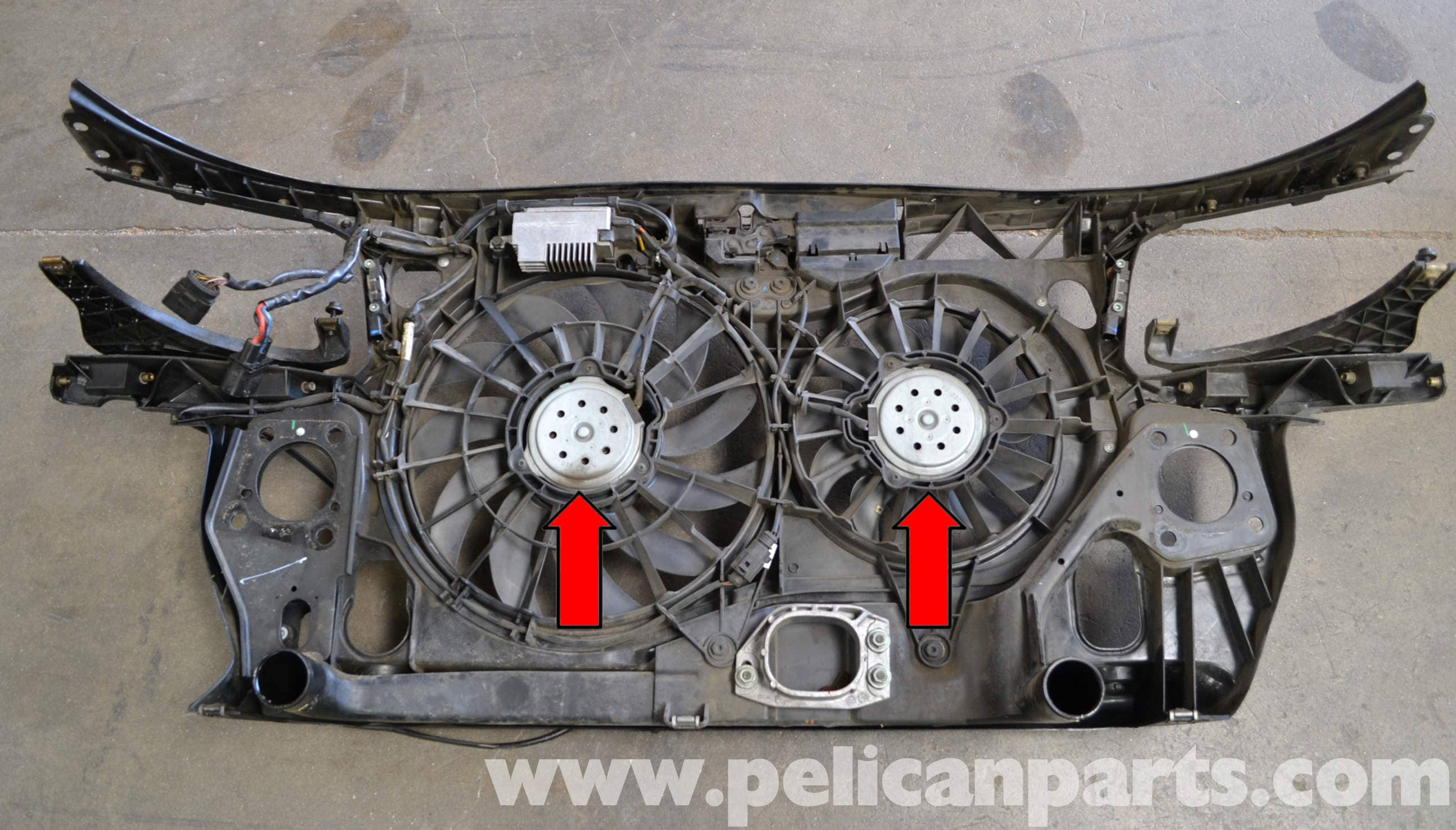 Audi A4 B6 Fan And Shroud Replacement 2002 2008