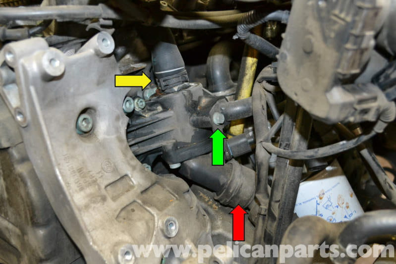 Audi A4 B6 Thermostat Replacement 2002 2008 Pelican border=