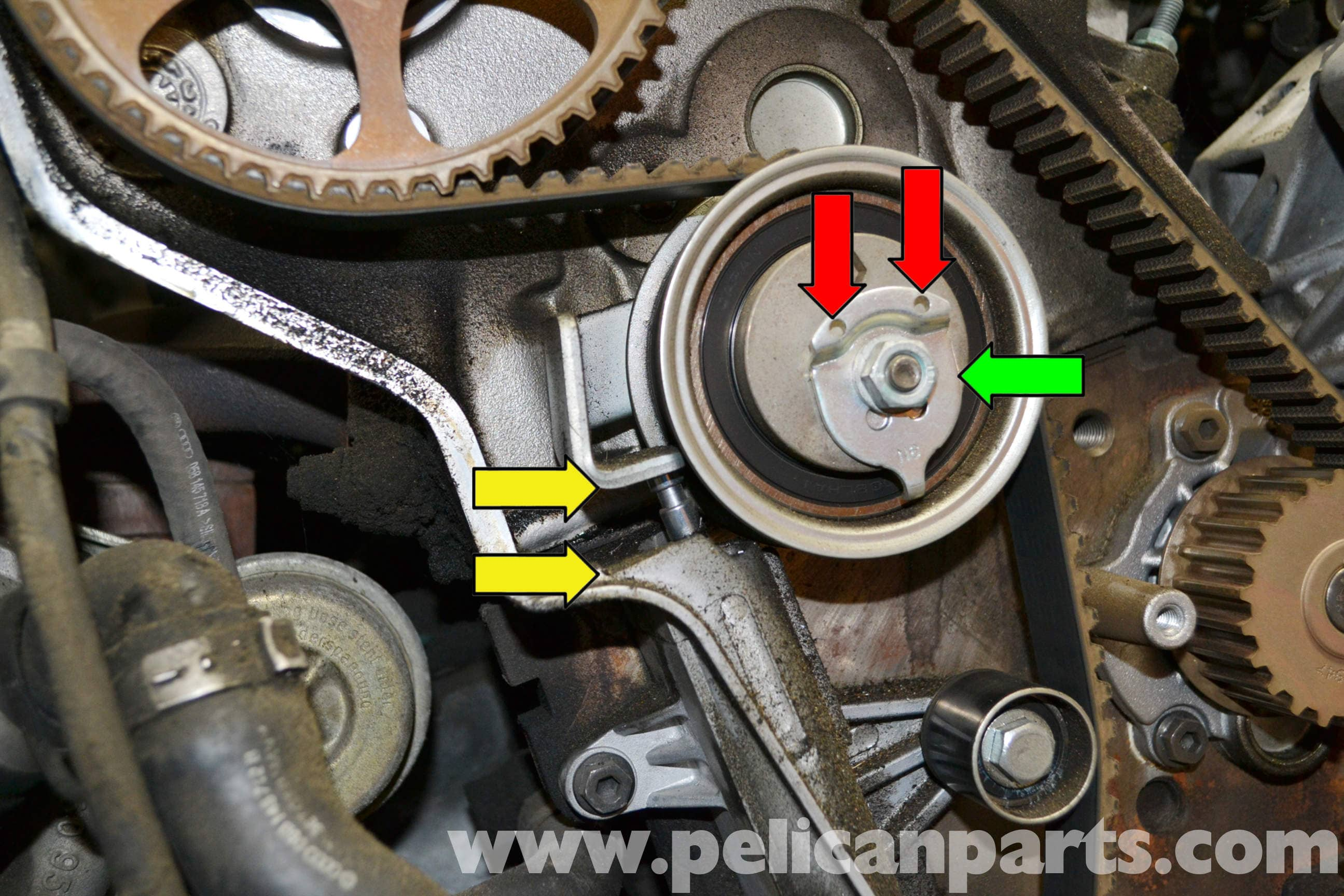 Pic on Belt Tensioner Replacement