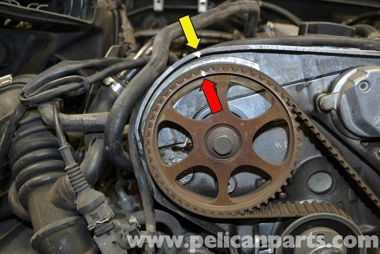 Audi A4 B6 Timing Belt Tensioner Replacement 1 8t 2002