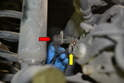 Rear Sensor- Use a 5mm Allen and remove the single bolt holding the sensor in place.