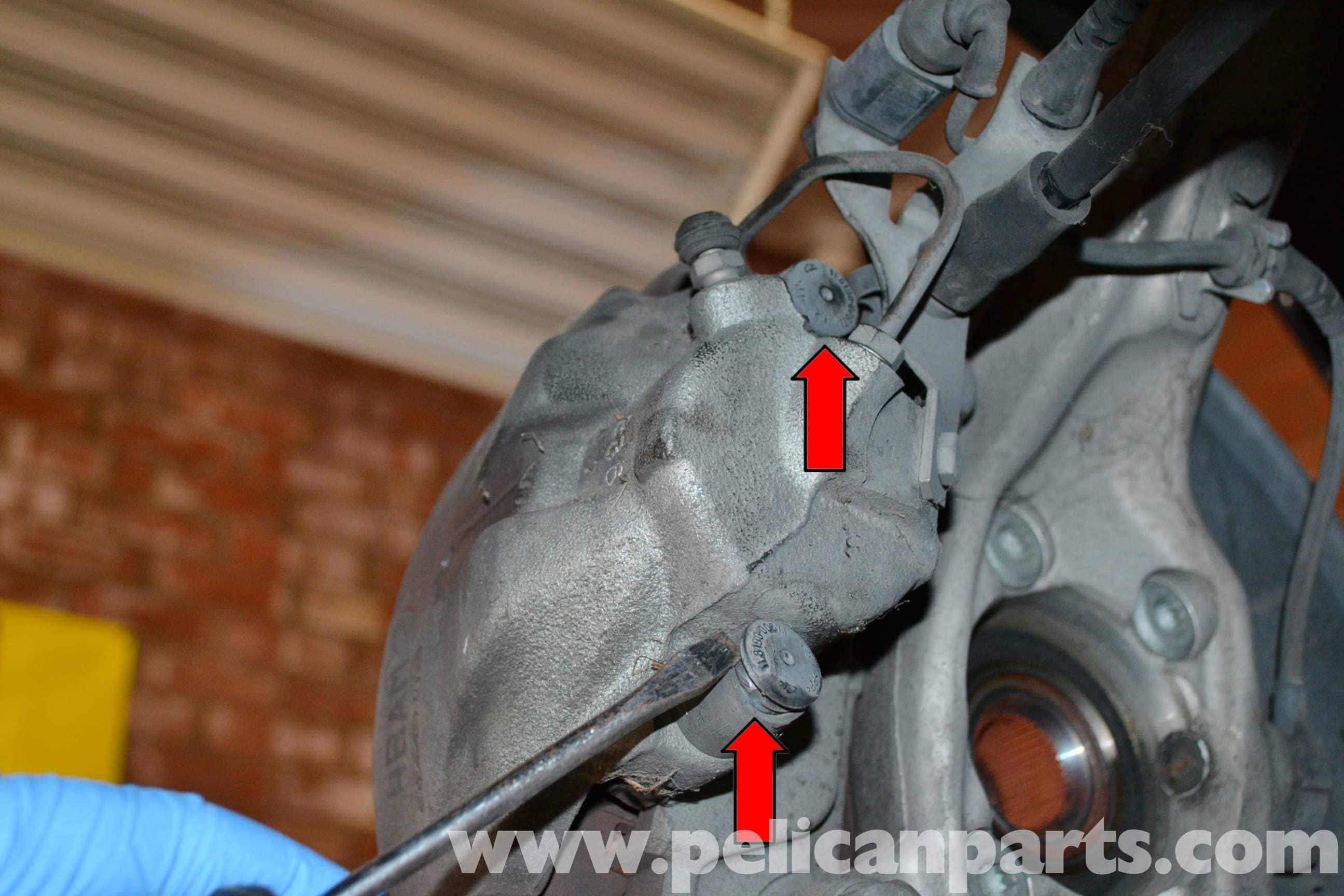 Audi A4 B6 Front Brake Pad Replacement (2002-2008) | Pelican