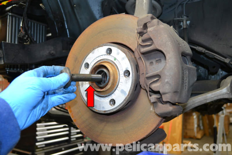 Audi A4 B6 Front Wheel Bearing Replacement 2002 2008 Pelican