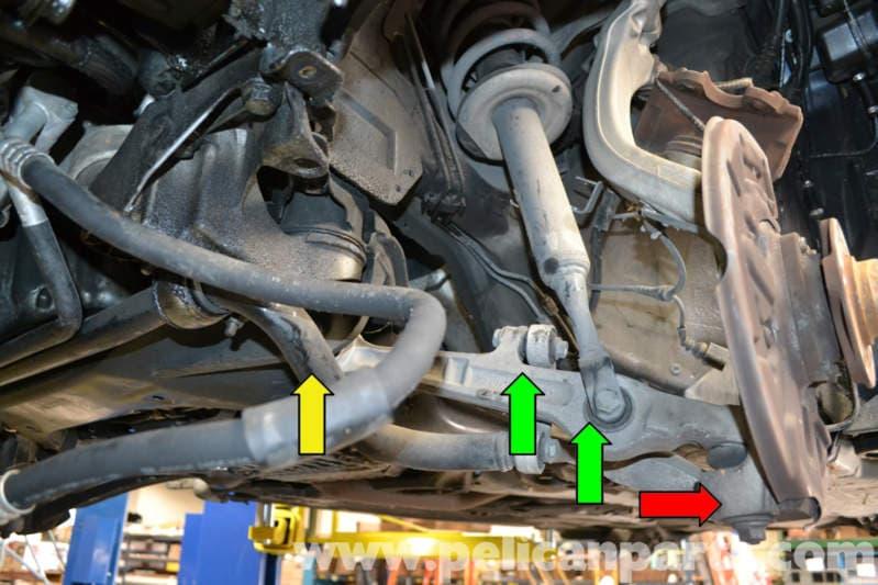 audi a4 b6 front lower control arm replacement 2002 2008 pelican rh pelicanparts com 2002 Audi Avant 2002 Audi Car