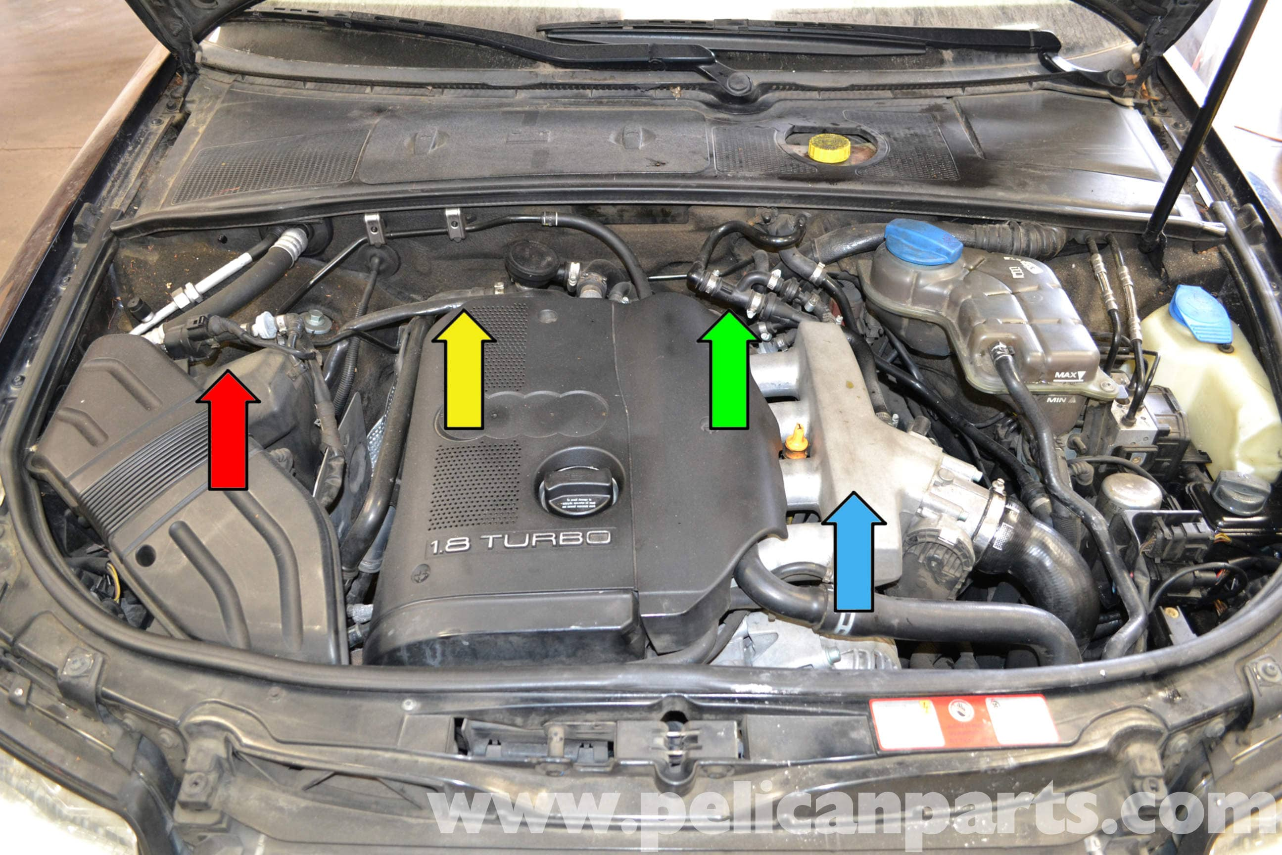 Audi A4 B6 Fixing Common Vacuum Leaks (2002-2008) | Pelican Parts DIY  Maintenance ArticlePelican Parts