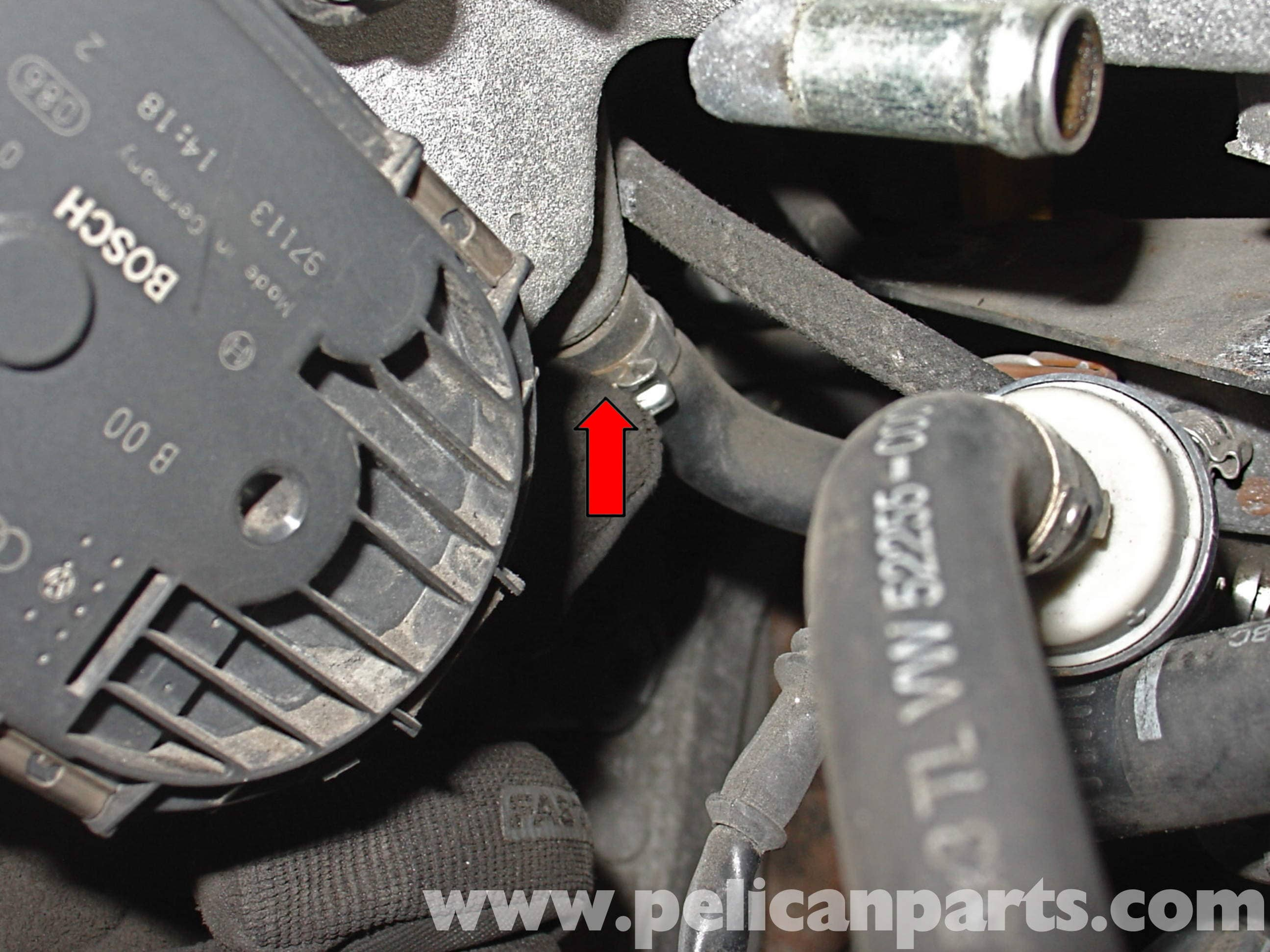 audi a4 b6 fixing common vacuum leaks (2002 2008) pelican partslarge image extra large image