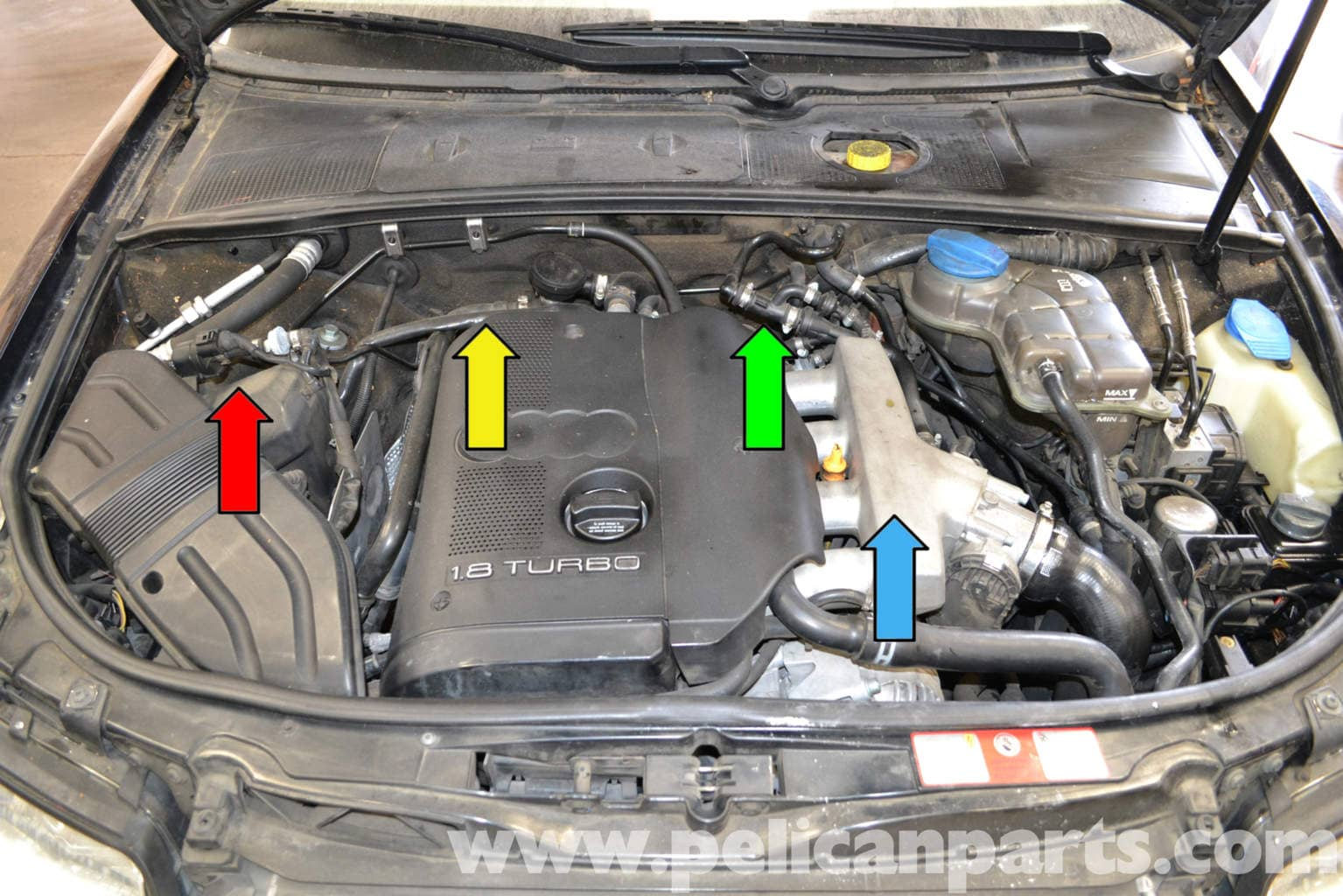 [SCHEMATICS_4CA]  Audi A4 B6 Fixing Common Vacuum Leaks (2002-2008) | Pelican Parts DIY  Maintenance Article | 1 8 Turbo Engine Diagram |  | Pelican Parts