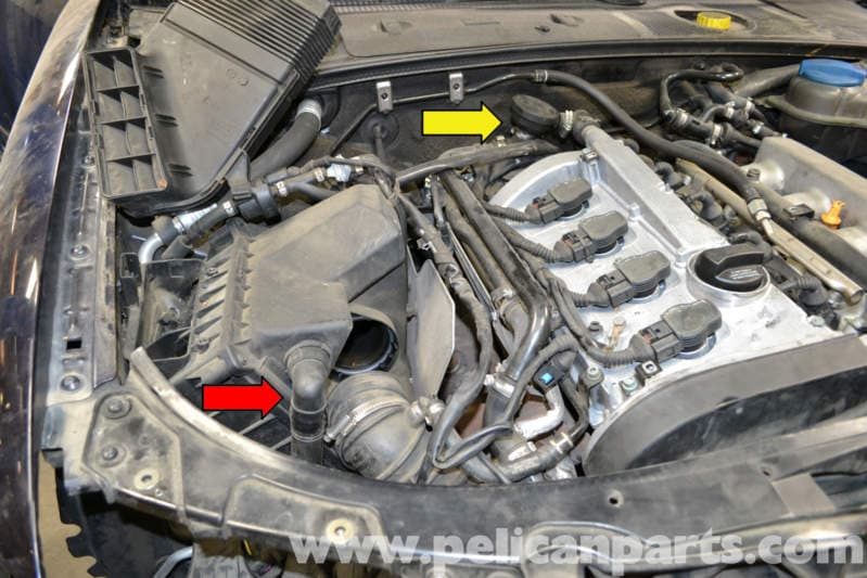Audi A4 B6 Fixing Common Vacuum Leaks  2002