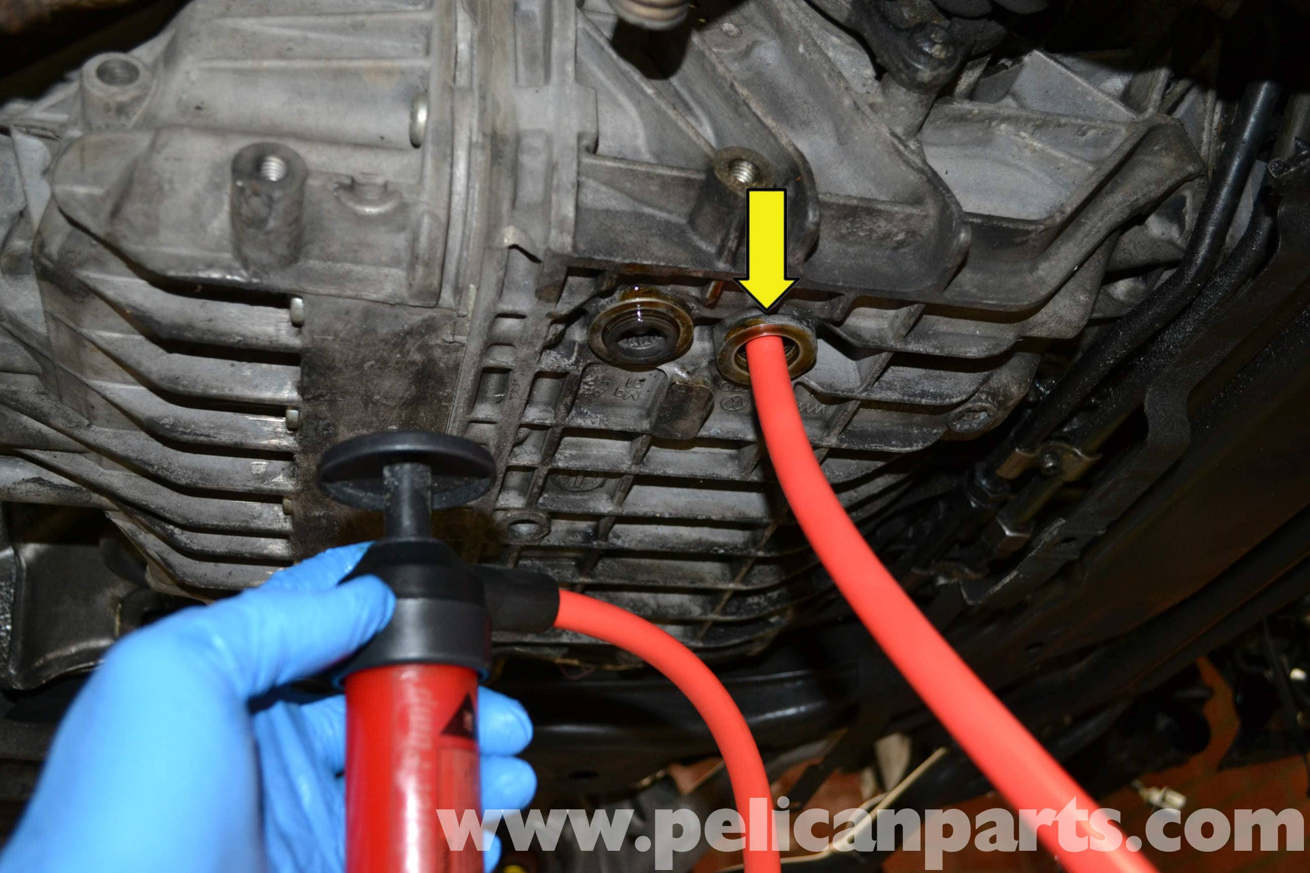Audi A4 Transmission Fluid Change