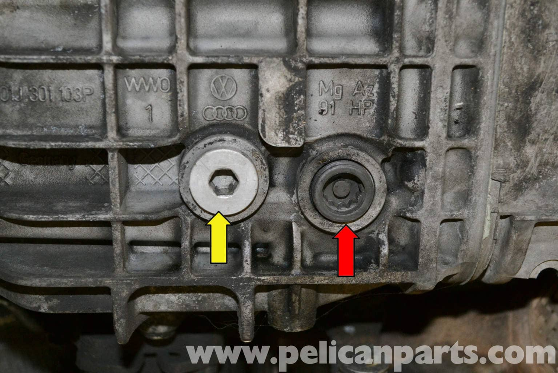 Automatic Transmission Fluid >> Audi A4 B6 Automatic Transmission Fluid and Filter Replacement (2002-2008) | Pelican Parts DIY ...