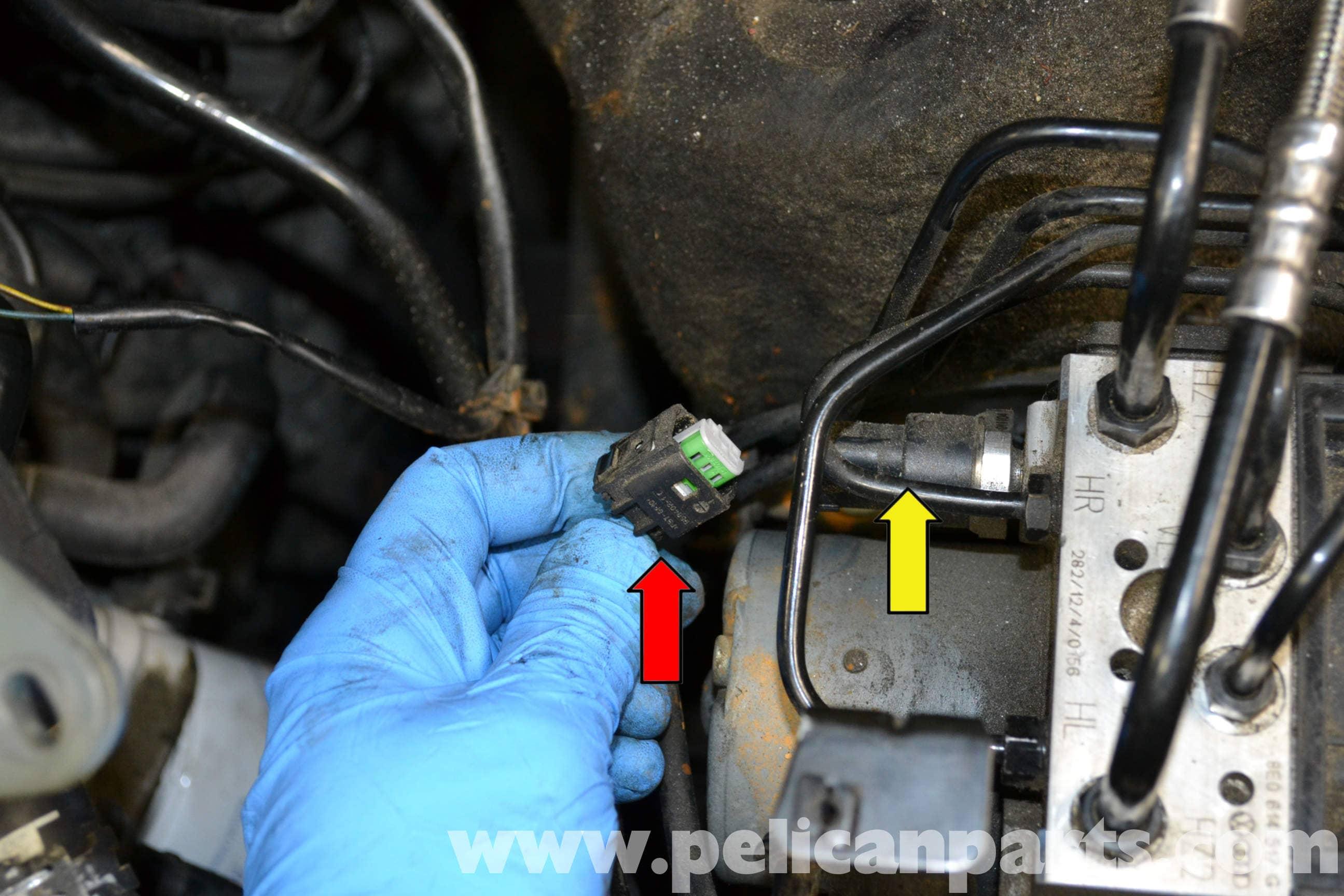 Audi A4 B6 Brake Pressure Sensor Replacement (2002-2008)   Pelican