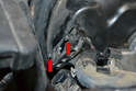 Since the small O-ring on the sensor helps create a vacuum seal, make sure the stubs are in good condition.