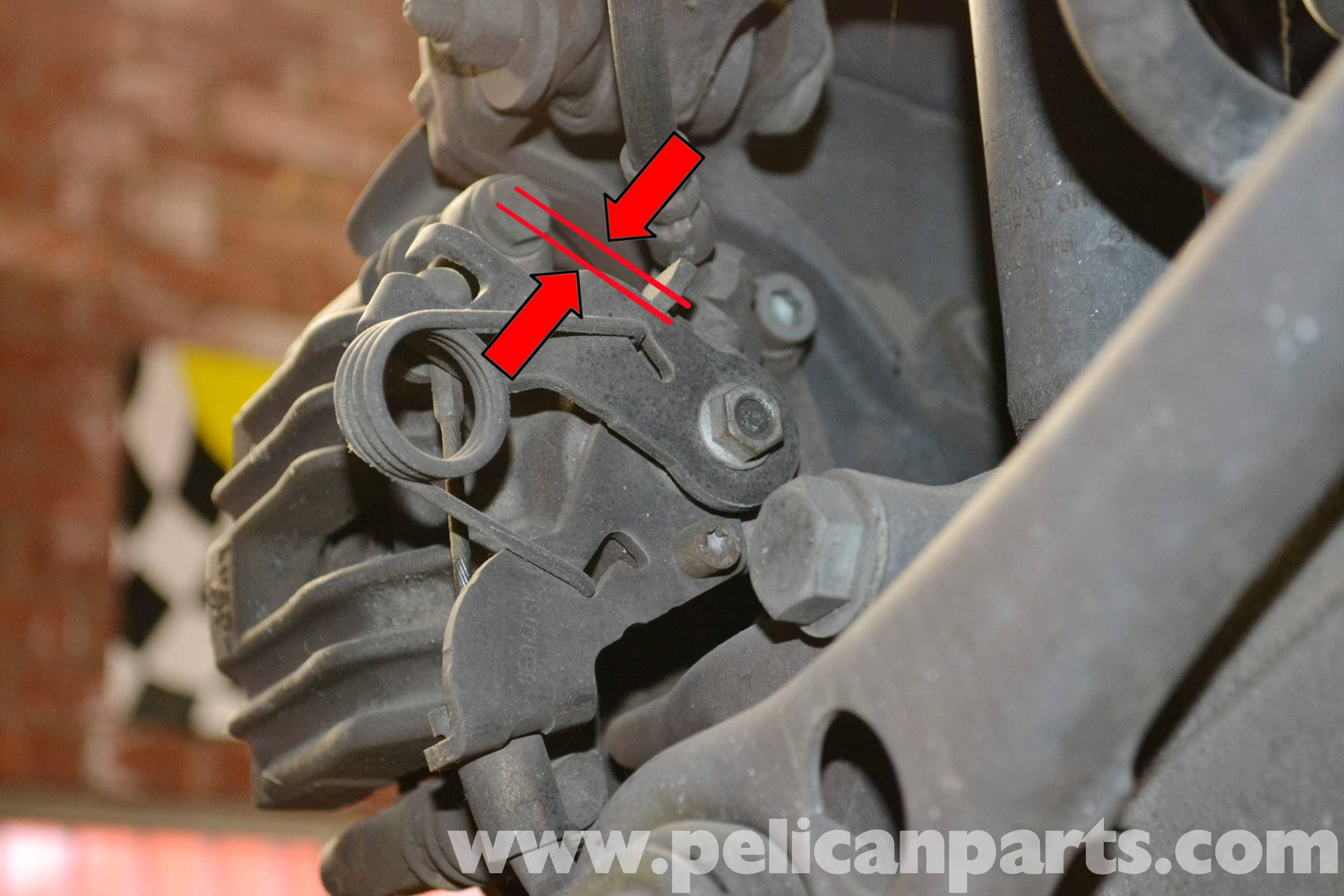 Large Image | Extra-Large Image · Cable Replacement - The parking brake ...