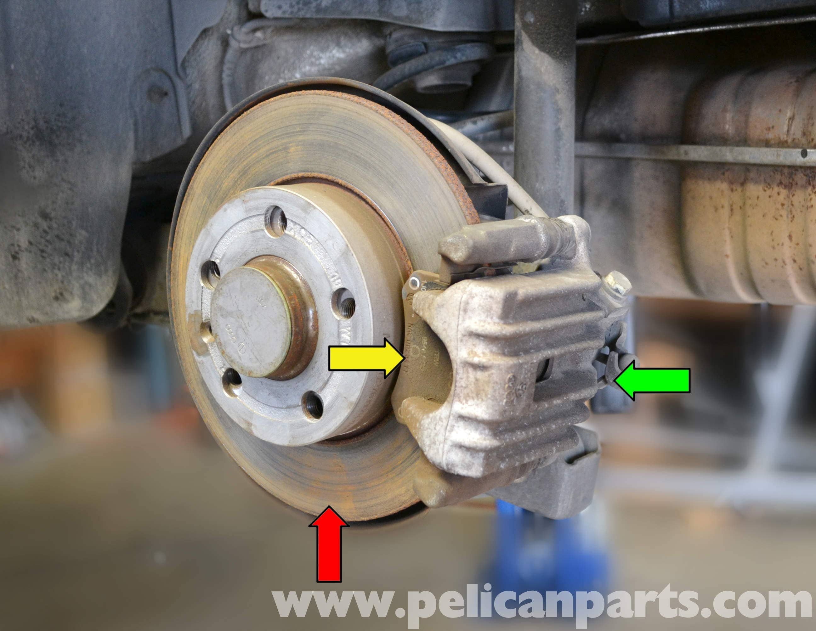 Brake Pads And Rotors Replacement Mk4 Vw Jetta Golf New