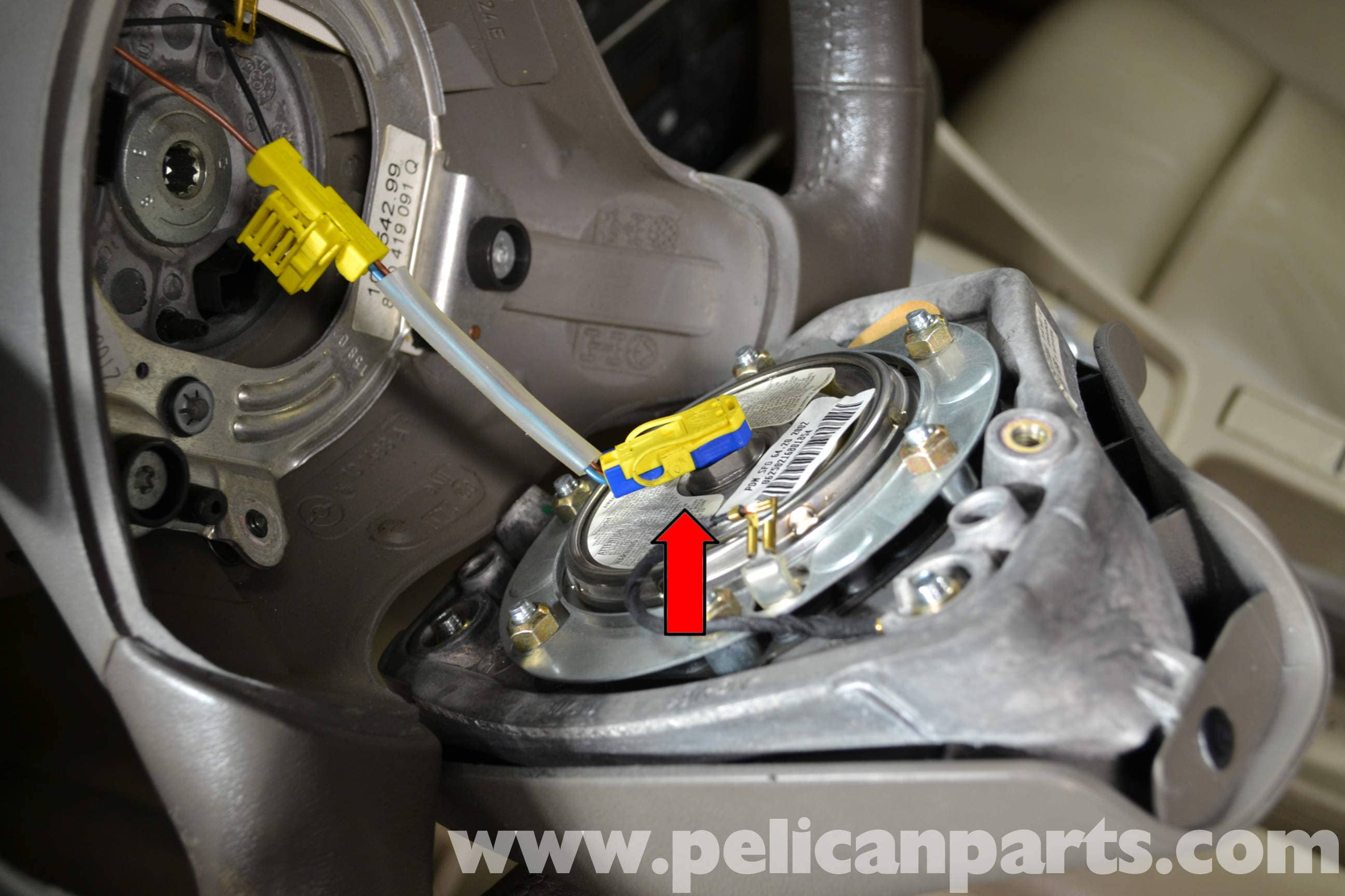 Audi a4 b6 steering wheel and air bag removal 2002 2008 pelican large image extra large image asfbconference2016 Images
