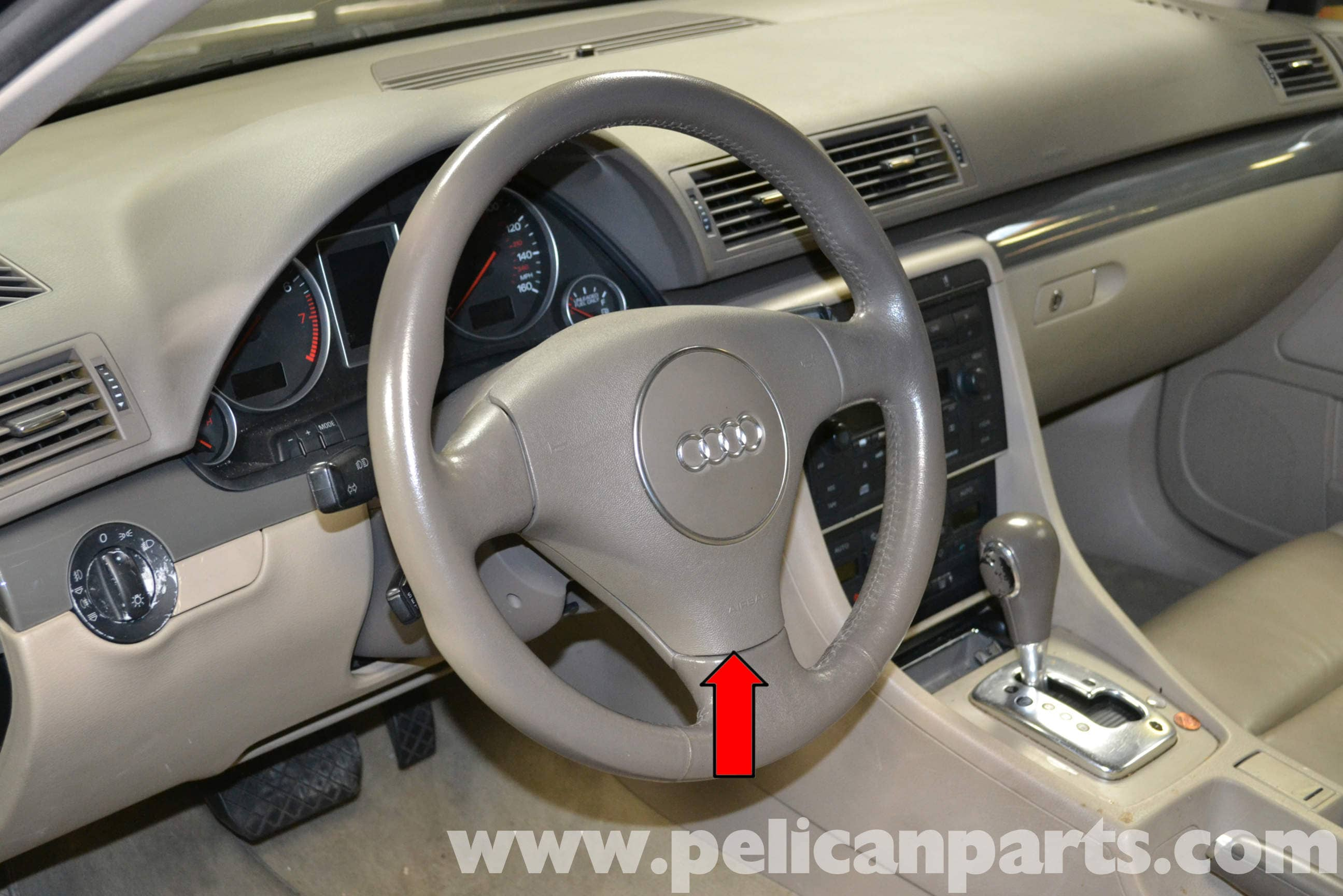 Large Image | Extra-Large Image · With the steering wheel ...