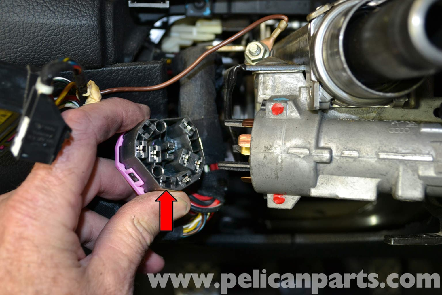 audi a4 b6 ignition switch and lock cylinder replacement. Black Bedroom Furniture Sets. Home Design Ideas