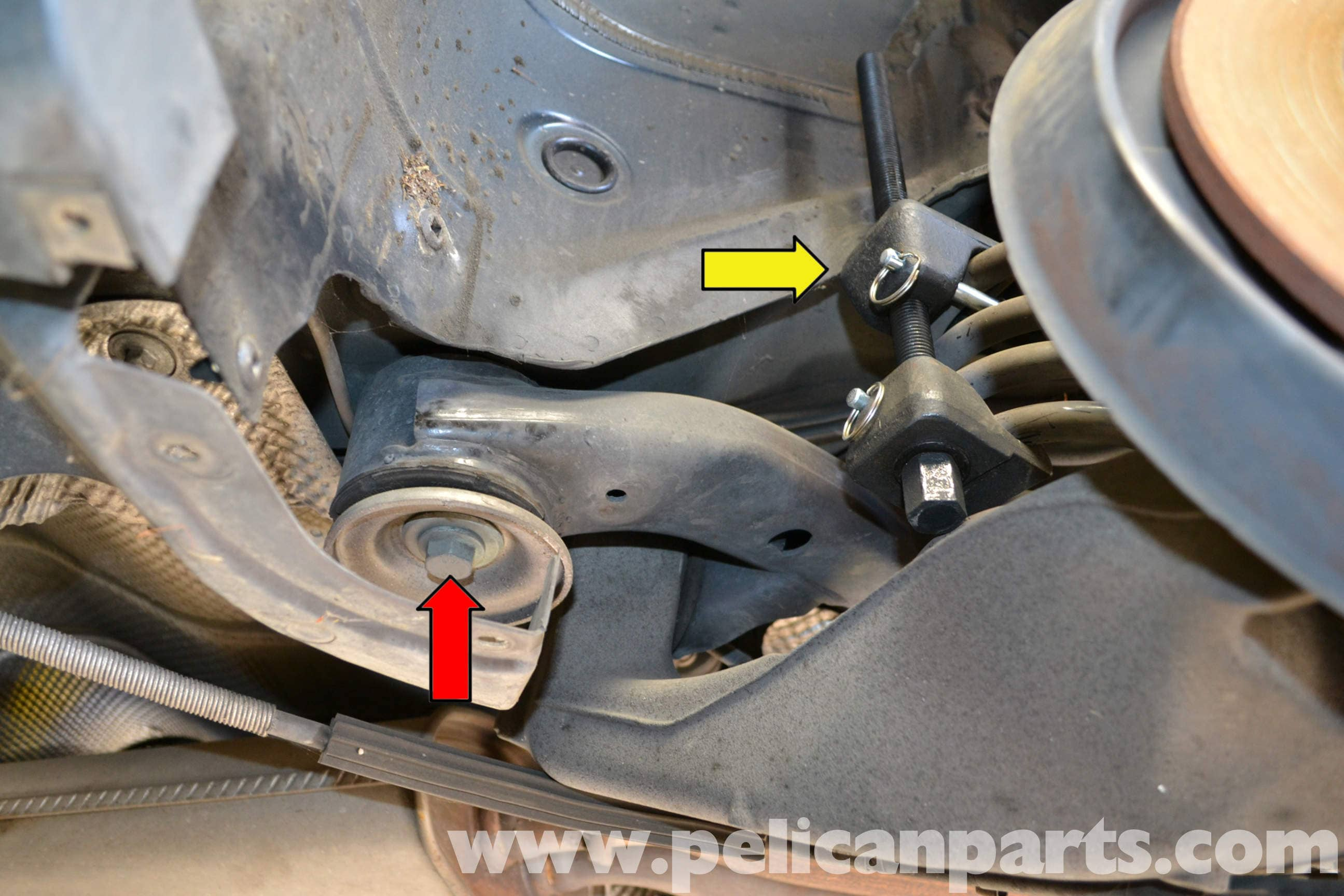 Audi A4 B6 Rear Spring Replacement 2002 2008 Pelican Parts Diy