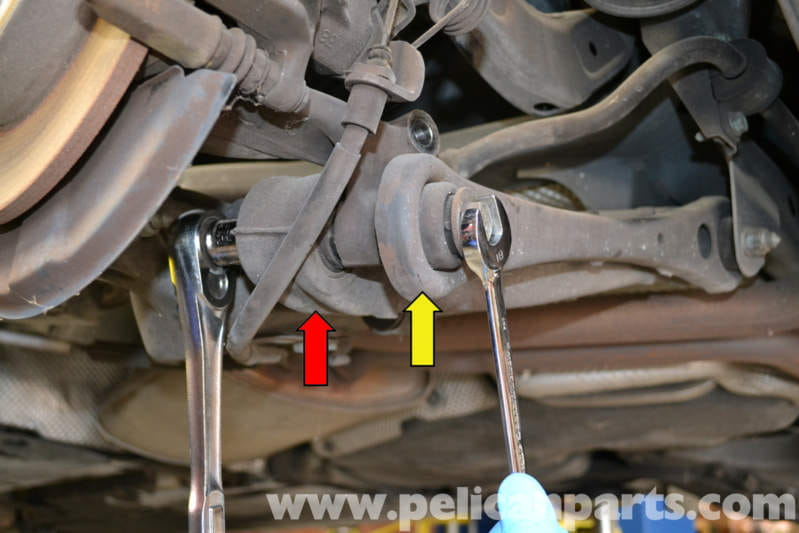 Audi A4 B6 Rear Suspension Bushing Replacement 2002 2008