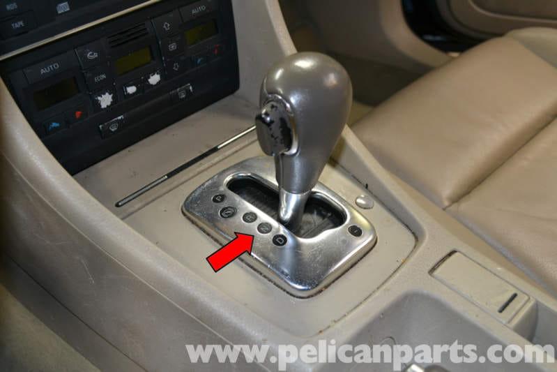 Audi A4 B6 Shift Knob Replacement  2002