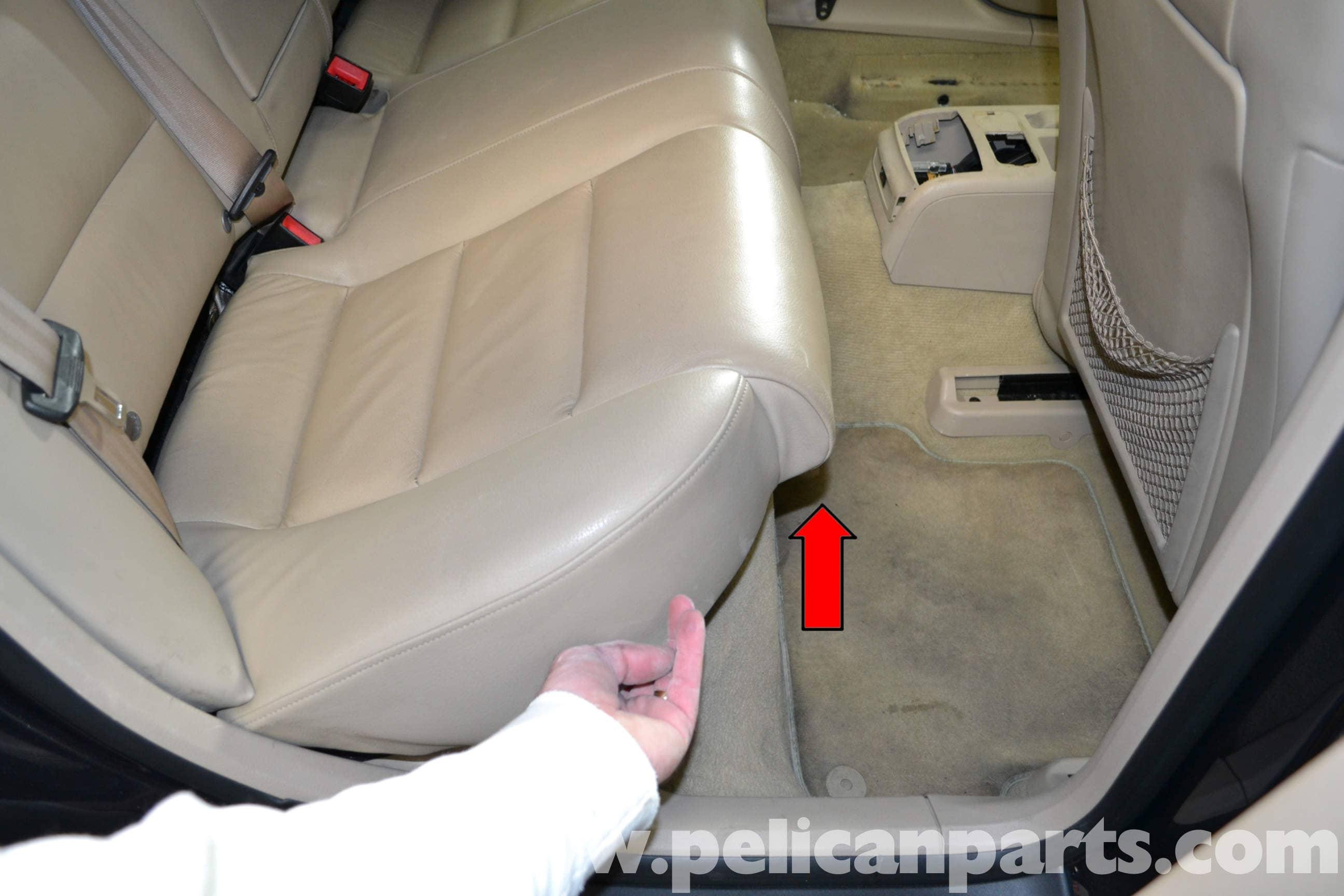 audi a4 b6 seat removal 2002 2008 pelican parts diy maintenance rh pelicanparts com Audi A4 Quattro 2003 Audi A4 1.8T Exhaust