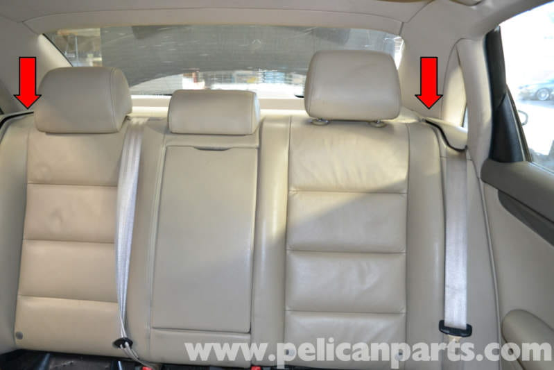 Audi A4 Rear Seat Cover Velcromag