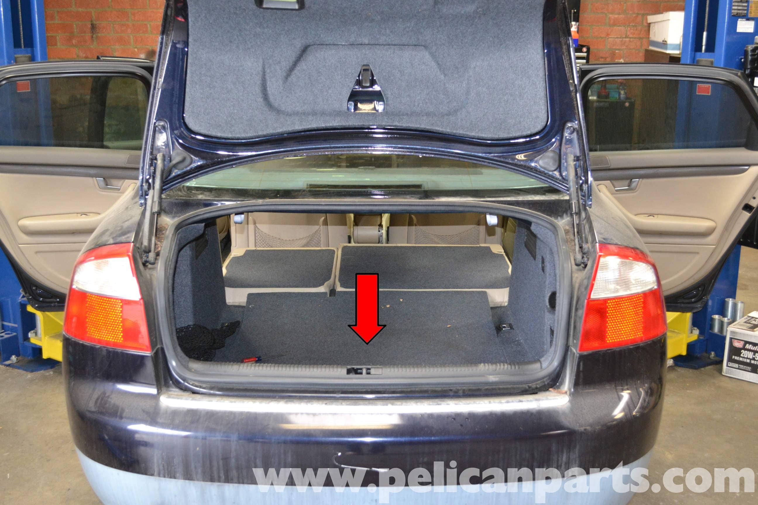 Audi A4 Rear Interior Panel Removal