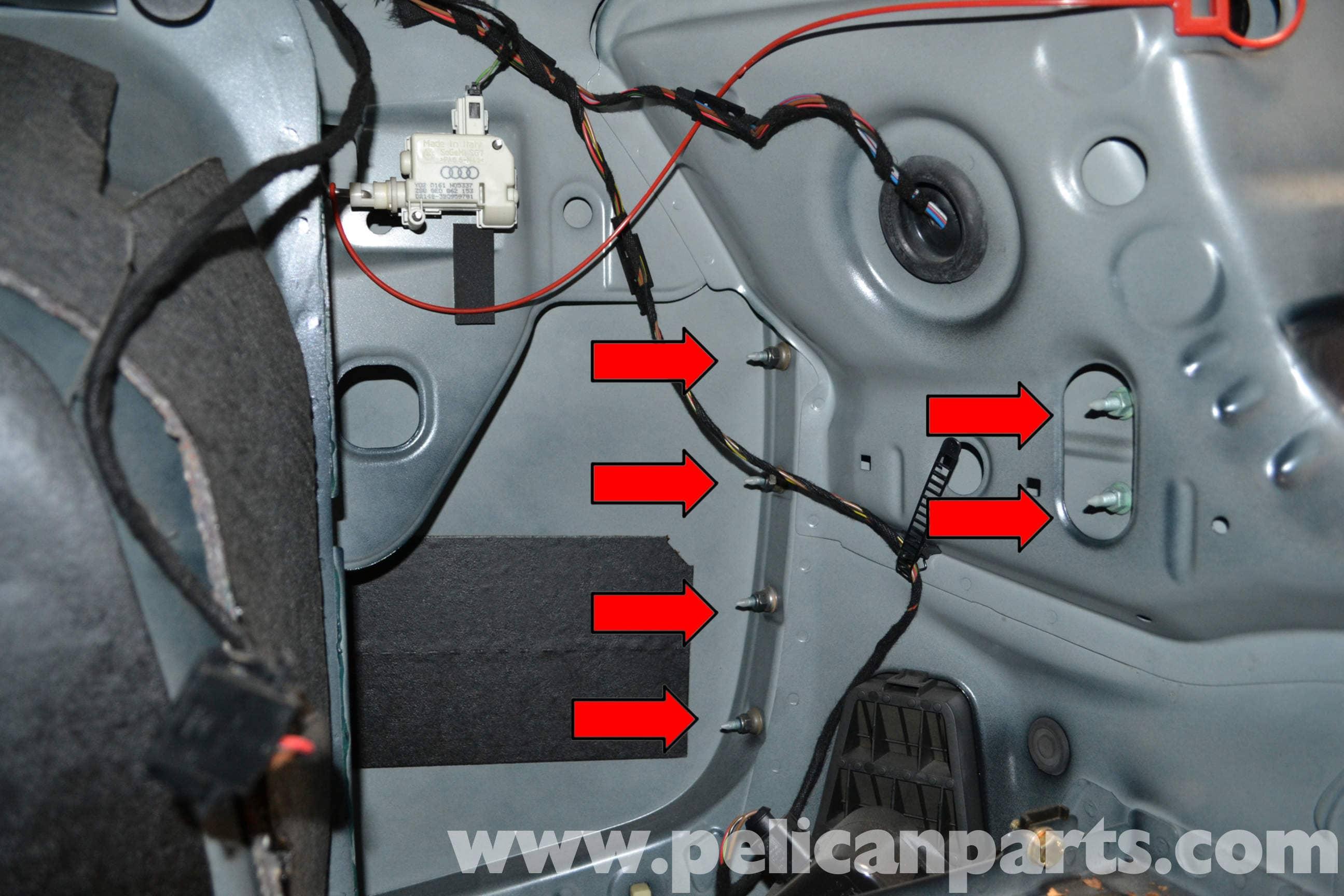 Audi A4 B6 Rear Bumper Removal (2002-2008) | Pelican Parts DIY
