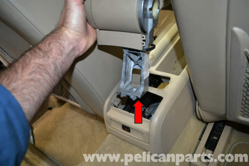 Audi A4 B6 Center Console Removal  2002