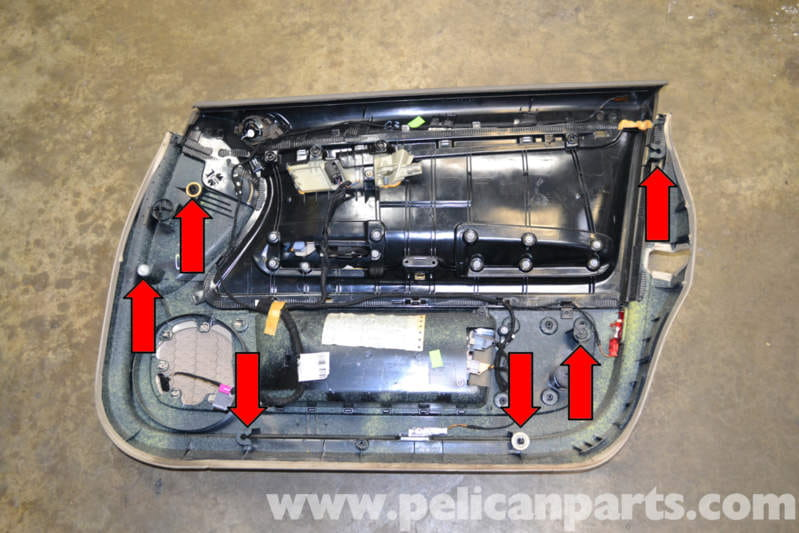 Audi A4 B6 Front Door Panel Removal 2002 2008 Pelican