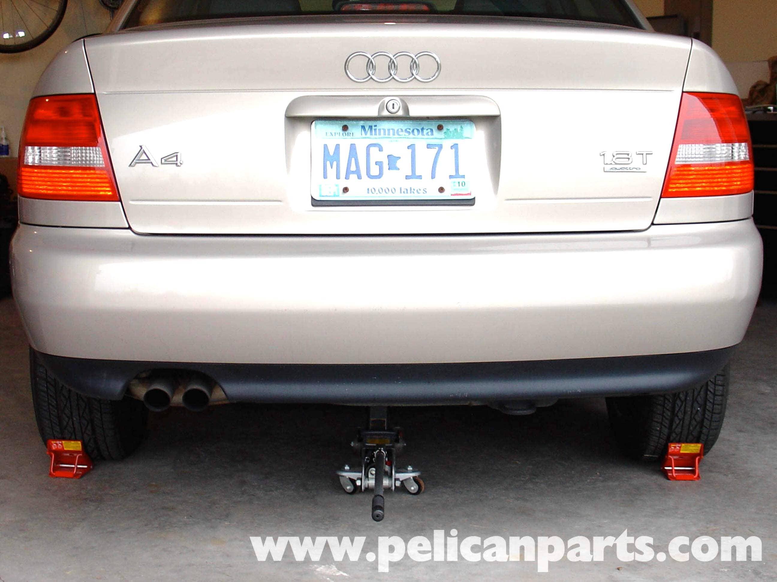 Jacking Up Your Audi A4 18t Golf Jetta Passat Beetle